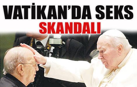 Vatikan'da sex ve yolsuzluk skandalı