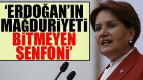 Meral Akşener: Bahçeli ve AKP konforundan çok memnun